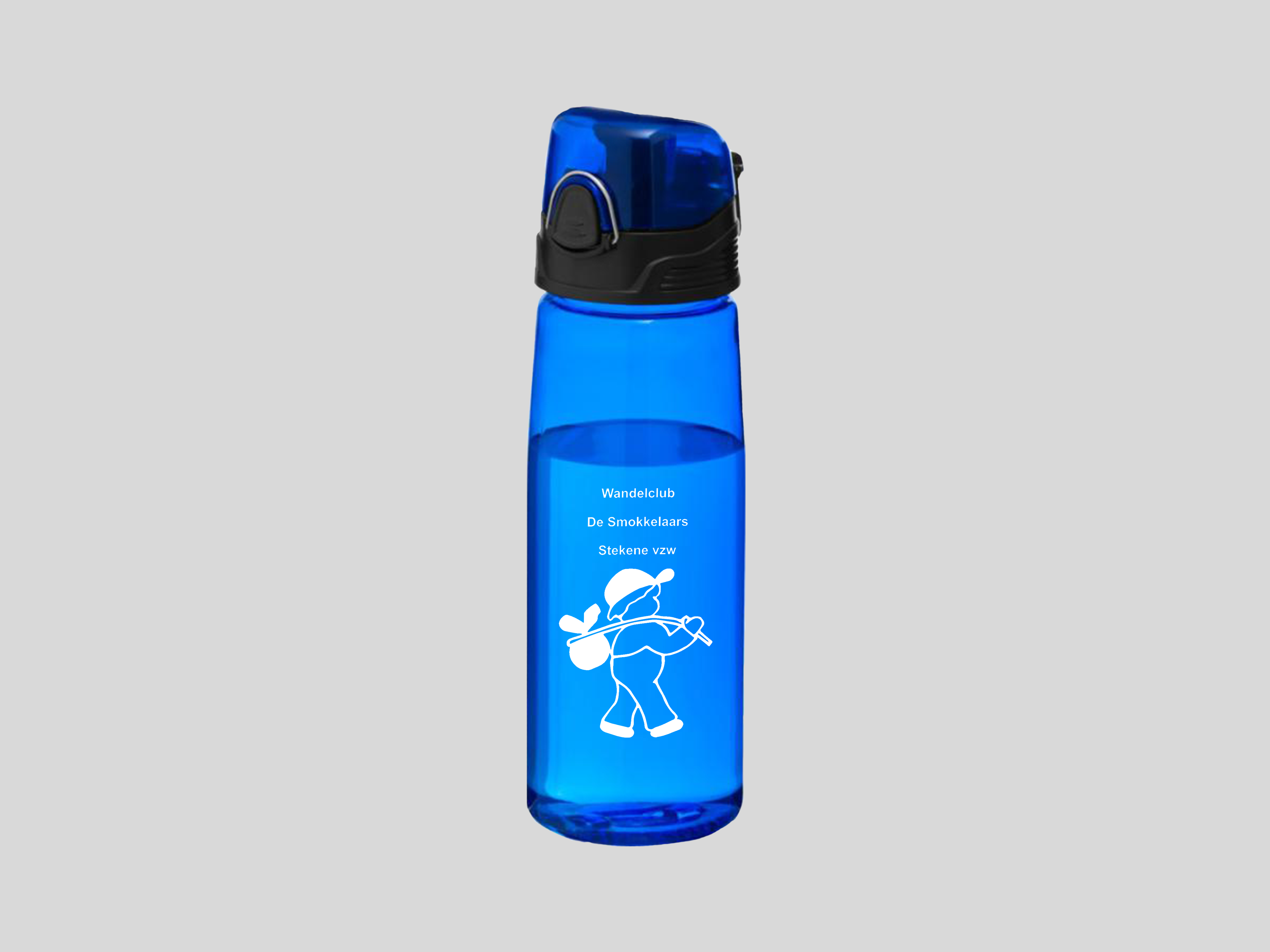 Drinkfles met logo bedrukt door Voel